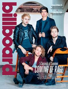 5SOS for Billboard September 2015 - Sugarscape.com