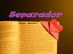Origami - Papiroflexia. Tutorial: Corazón sujeta paginas
