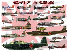 Japanese aircraft of WW2