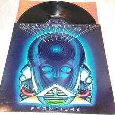 Journey Frontiers Vinyl LP Columbia QC 38504 EX US 1983 Steve Perry Pop Rock