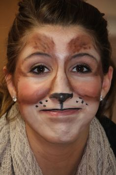 Chipmunk Make-up Design