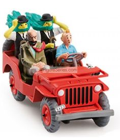 Jeep WILLYS MB 1943 Tintin Au Pays de L'Or Noir