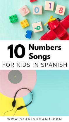 The Best Spanish Numbers Songs for Kids Preschool Spanish, Elementary Spanish, Spanish Activities, Spanish Classroom, Spanish Language Learning, Teaching Spanish, Spanish Music, Classic Spanish Songs, Spanish Lessons