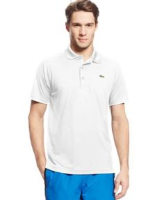 LACOSTE Lacoste Men'S Sport Ultradry Performance Polo. #lacoste #cloth # polos