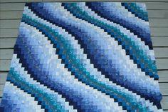 Bargello waves--my next quilt!