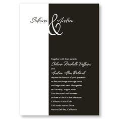 Trendsetting Wedding Invitations by TheAmericanWedding.com