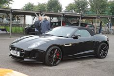 My dad just bought a jaguar f type like this, let me tell you it is truly amazing, it's like riding in a space ship. :)