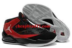 731b6f57c Jordan Flight The Power black red mens basketball shoes