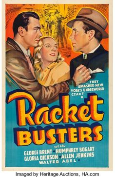 Movie Posters:Crime, Racket Busters (Warner Brothers, 1938). Other Comp...
