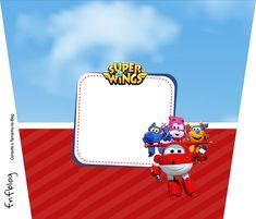 Baldinho de Pipoca Super Wings