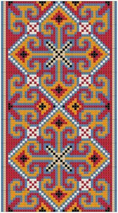 Бисер и бисероплетение на Biserok.org | VK Wedding Cross Stitch Patterns, Cross Stitch Borders, Cross Stitch Designs, Cross Stitching, Cross Stitch Embroidery, Tapestry Crochet Patterns, Needlepoint Patterns, Loom Patterns, Embroidery Patterns