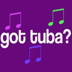 tuba t shirts | Personalized Tuba T-shirts | School Music T-shirts And Gifts