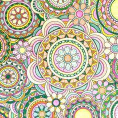 Flower Designs Coloring Book by Jenean Morrison