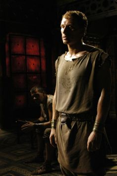 Titus Pullo and Lucius Vorenus - Ray Stevenson and Kevin McKidd in Rome, set between 49 BC and 31 BC (TV series 2005-2007).
