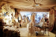 An Ode to Virginia Bates' Vintage Emporium Boutique London  (John Galliano)