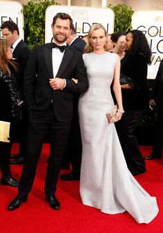 Joshua Jackson and Diane Kruger make the red carpet look chic.