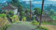 From Kokuriko Hill (Studio Ghibli)