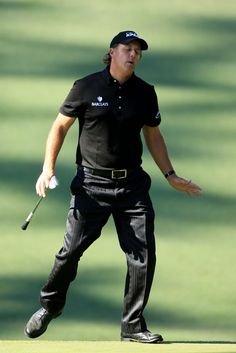 The new Phil Mickelson dance, perhaps?