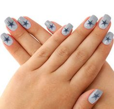 1000 Ideas About Dallas Cowboys Nails On Pinterest