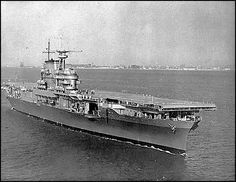 USS Hornet. My Uncle served on this carrier.