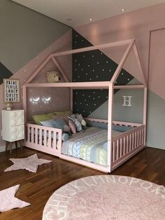 Girls Room Design, Kids Bedroom Designs, Room Design Bedroom, Baby Room Design, Room Ideas Bedroom, Home Room Design, Bedroom Decor, Decorating Toddler Girls Room, Toddler Room Decor