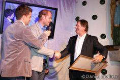 Franz Klammer 60 igster Geburtstag im Pulverer - Michael Walchhofer, Franz Klammer und Oliver Polzer #fk60