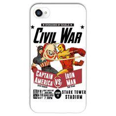 Capinha Guerra Civil Branca