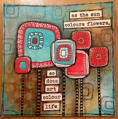 New stamp release by Emma Godfrey for PaperArtsy | by Tr4cy1973