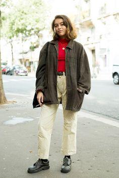 パリジェンヌのパンツスタイルは抜け感がキーに。【パリ スナップ】 | Vogue Japan