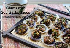 Korean Clams with Soy Garlic Sauce | Heart Mind & Seoul