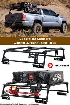 Check out our Overland Truck Rack for Pickups
