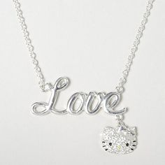 Feline-fabulous: Hello Kitty Love Charm Pendant Necklace