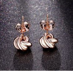 Models Cute 1pair Fashion Three-dimensional Jewelry Star Fine Earrings Color New Wild Bow Korean Superior Performance Earrings