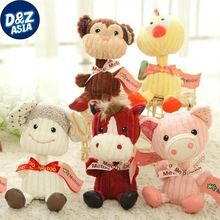 Metoo genuino doce del zodiaco juguetes de peluche accesorios del coche muebles para el hogar regalos creativos(China (Mainland))