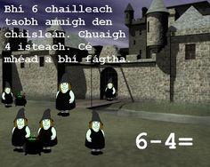 Flipcharts to use in Primary School Education Center, Primary School, Maths, Den, Ireland, Irish, Halloween, Board, Poster