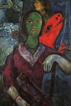 Marc Chagall, 1966, Picture of Vava,   https://www.artexperiencenyc.com/social_login/?utm_source=pinterest_medium=pins_content=pinterest_pins_campaign=pinterest_initial