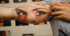 Tattoos from Eastern Europe. http://illusion.scene360.com/art/44354/tattoos-from-eastern-europe/