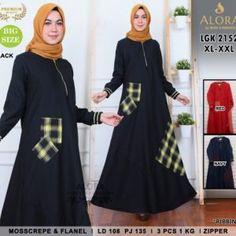 Pusat Grosir Baju Wanita | Baju Gamis Modern Batam, Jakarta, Muslim, Dan, Surabaya, Black, Dresses, Fashion, Vestidos