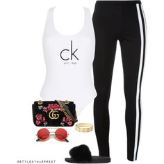 Chilled out! by stylebyharpreet on Polyvore featuring polyvore, fashion, style, Y-3, Calvin Klein, Givenchy, Gucci, Cartier and clothing
