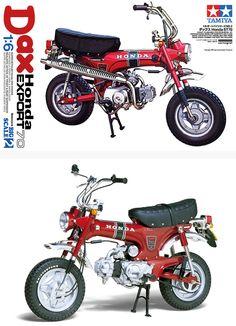 Dax Honda ST70 | TAMIYA