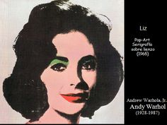 Portraits of Woman along the history of art 97 Andy Warhol Portraits, Children's Films, Elizabeth Taylor, Woman Face, In Hollywood, All Art, Female Art, Sculptures, Sketches