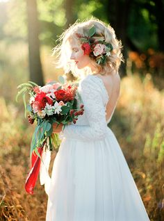Valentina & Valeriy. Rustic Marsala Wedding in Samara. | Olga Plakitina Photography