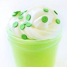 Key Lime Puddin Glossy Slime