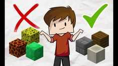 Top 10 BEST and WORST blocks in Minecraft for Building IN MY OPINION. It's hard to know sometimes if a minecraft block suits your house or not. Minecraft Blocks, Minecraft Houses, Minecraft Secrets, Best Kids Toys, Least Favorite, Mini Games, Building A House, House Design, Pure Products