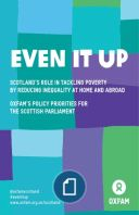 Scotland shouldn't live with poverty, here or anywhere. Read our priorities for the Scottish Parliament to help #EvenItUp http://oxf.am/Zn6u