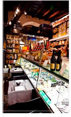 Salumeria Roscioli -- where we ate on our last night in Rome.