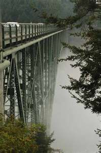 Deception Pass Bridge, Whidbey Island. Miss driving over this everyday. Gorgeous!