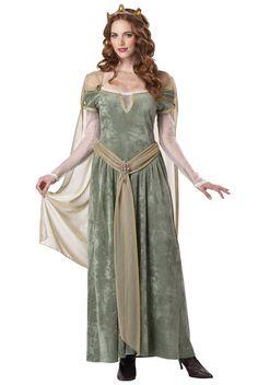 Queen Guinevere Adult Costume