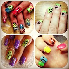 "@zumbawearcrew's photo: ""Zumba nails for convention!!! Tag @zumbawearcrew with ur #zumbaconvention2013 manicure! #wewannasee #zumba #zumbawear"""