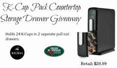 Keurig K-Cup Storage Drawer Giveaway